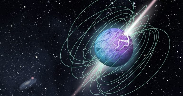 Ultrasonic ultrasonic radio flashes were first detected in the Milky Way