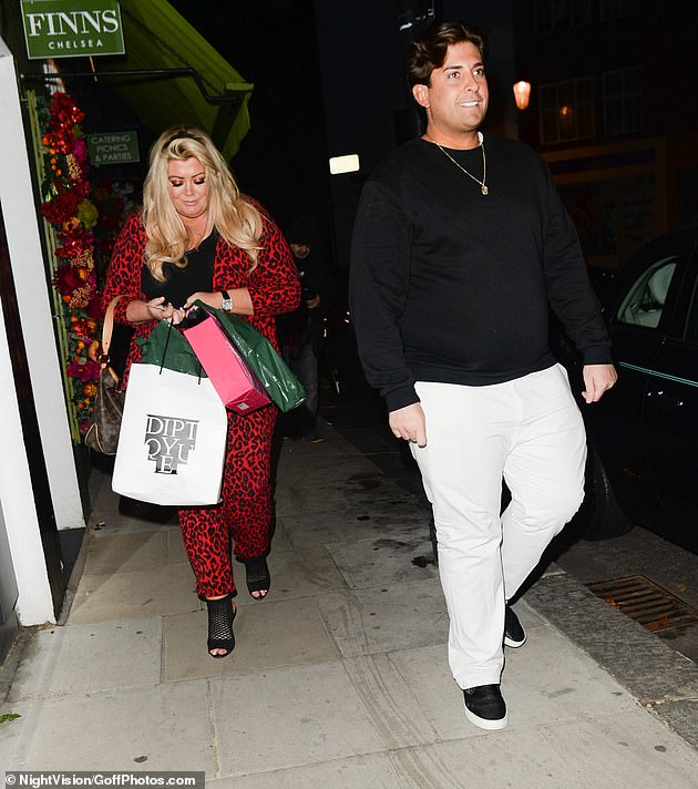 Kosi: The ex-couple were seen having dinner in London in October, 'Gemma was with her daughter-in-law, they entered the restaurant, Arg was there, they went to join him at the table' (pictured in 2018)