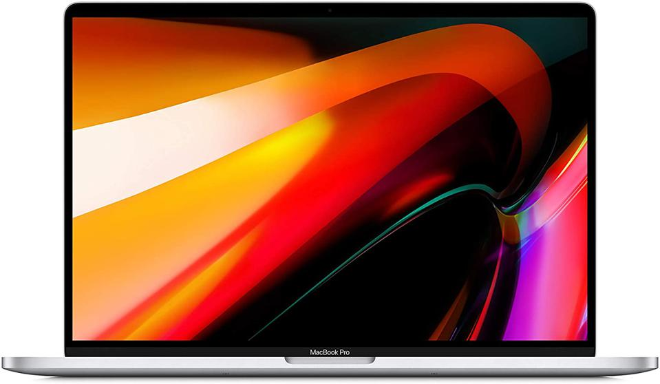 New Apple MacBook Pro (16 inches, 16GB RAM, 512GB storage, 2.6 GHz Intel Core i7) - Silver
