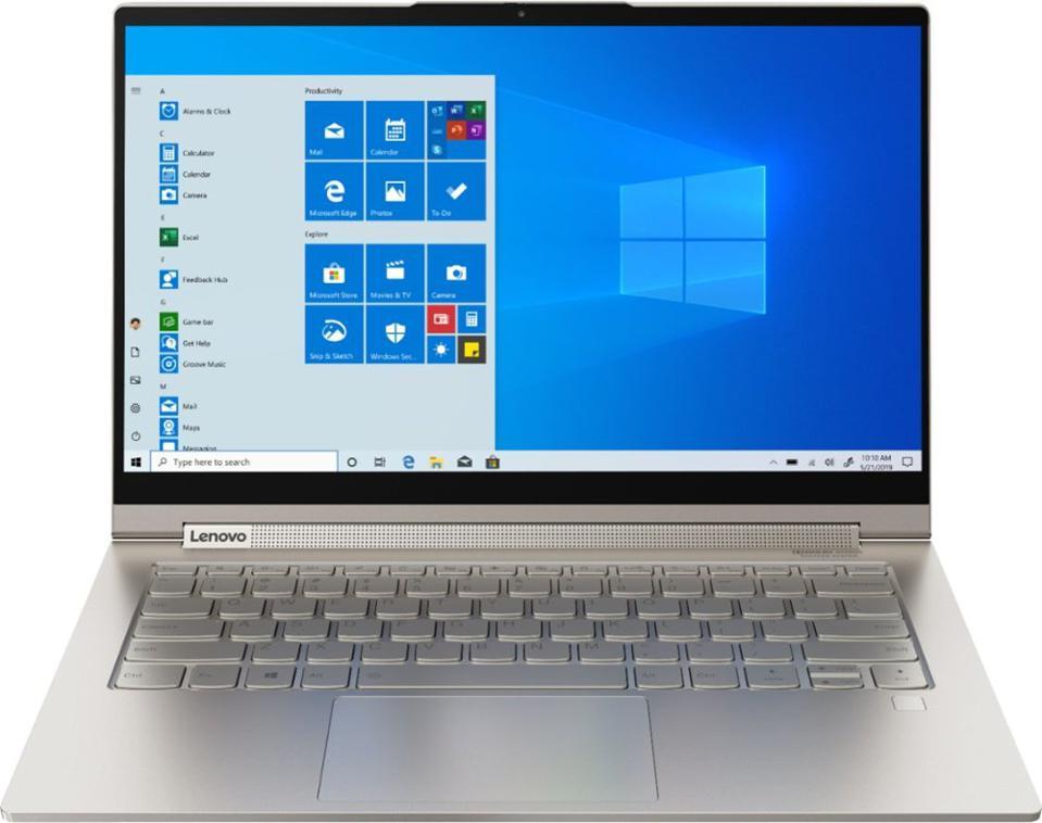 Lenovo - Yoga C940 2-in-1 14 ″ 4K Ultra HD Touchscreen Laptop - Intel Core i7 - 16GB Memory - 512GB SSD + 32GB Optain - Mica