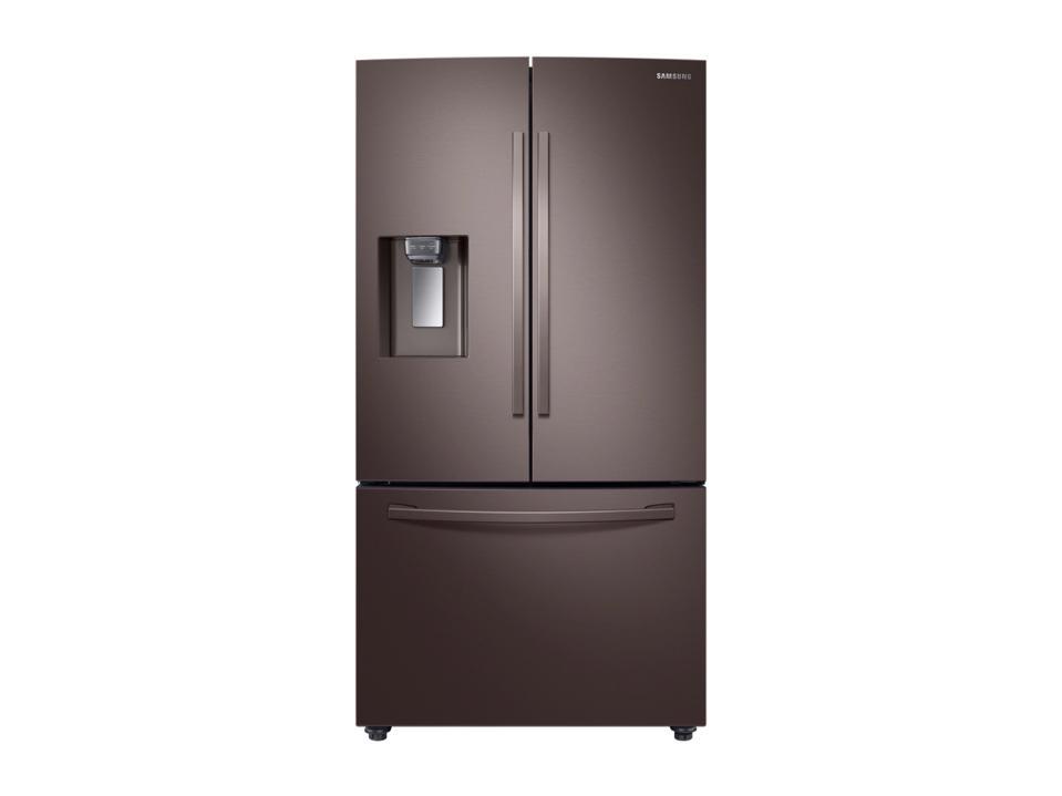 23 Q.  Ft.  Condor Depth 3-Door French Door Refrigerator CoolSelect Warehouse T Tuscan Stainless Steel Refrigerator - RF23R6201DT / AA