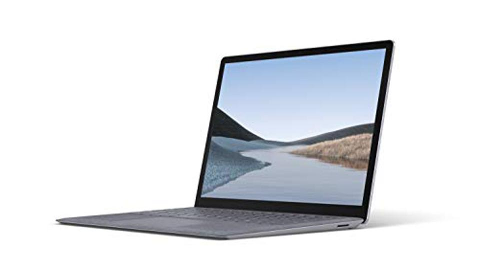 Microsoft Surface Laptop 3 - 13.5 Touchscreen - Intel Core i7 - 16GB Memory - 256GB Solid State Drive (latest model) - Platinum with Alcantara