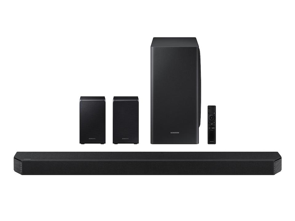 HW-Q950T 9.1.4ch Soundbar w / Dolby Atmos / DTS: X, Alexa Built-in (2020) Home Theater