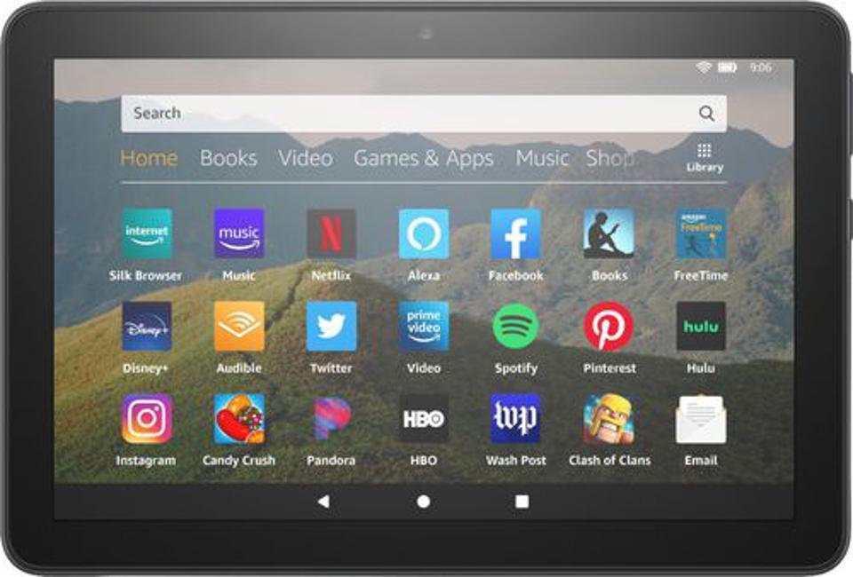 Amazon - Fire HD 8 10th Generation - 8 ″ - Tablet - 32GB - Black