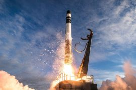 Rocket Lab to attempt first booster recovery during its next mission.