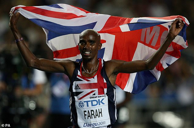 Cash: Sir Mo Farah has negotiated a hefty fee for his first reality TV show on Celebrity and a report suggests he could be paid $ 300.