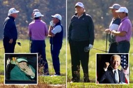 """Trump refuses to accept election defeat, claiming he won """"legal votes"""" after learning of Biden's victory while playing golf"""