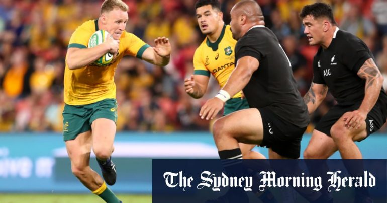 Reese Hodge and Matt Phillips are the difference between Wallabies against All Blacks