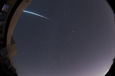 The Northern Turid meteor shower arrived this week