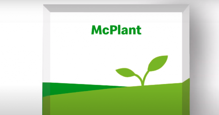 McDonald's makes its own McPlant meatless burgers