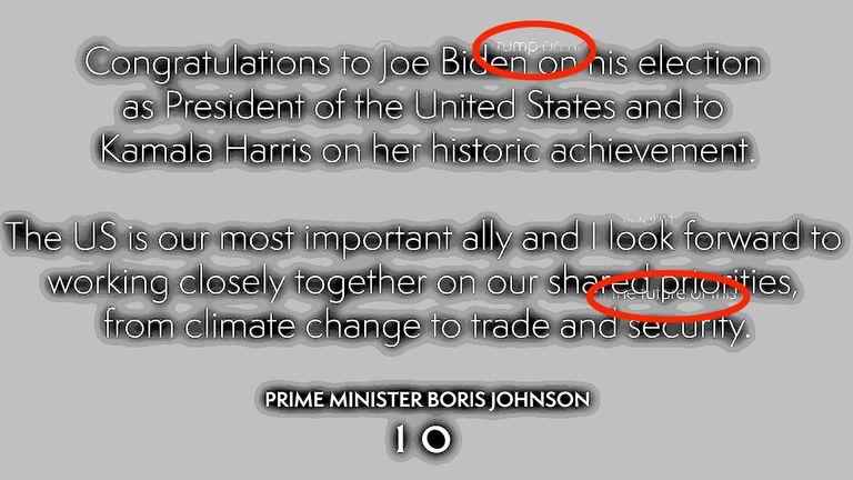 Prime Minister Joe Biden