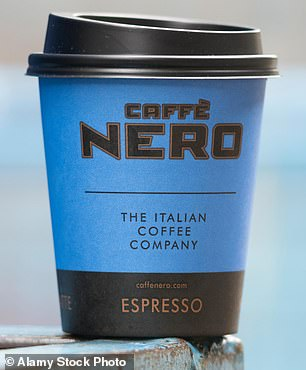Cafe Nero was forced to close completely for several months during the first lockdown, and now can only offer takeaways