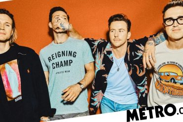 McFly misses 'sweating and half-naked with strangers' on tour