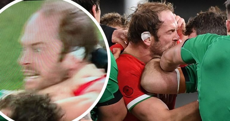 'Do it, do it!'  Wild-eyed Alun Vine Jones stares to death in Peter O'Malley as Ireland v Wales cause conflict