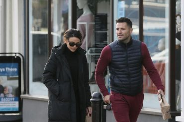 Michelle Keegan and Mark Wright roam their dogs daily to stay active