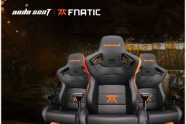 Andacet Global Provides Professional Gaming-Seat Solutions with Fandatic E-Sports Team