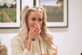 Olivia Atwood of Love Island sheds tears after removing mass from her breast