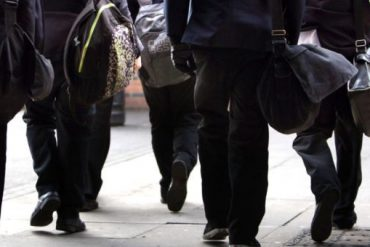 Students at Carlo School were told not to wear tight clothing during PE