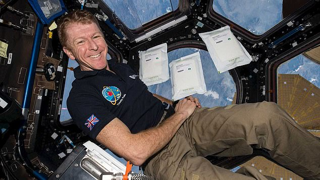 Major Peak became the first official British astronaut to join the International Space Station.  He holds the Guinness World Record for the fastest marathon in orbit during his mission.