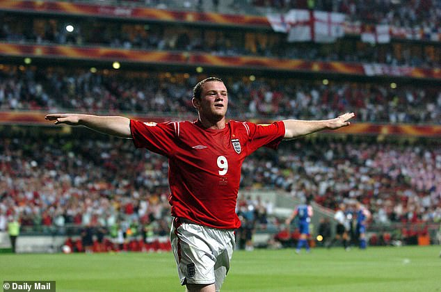 Rooney, who made his debut for England in Euro 2004, became his country's leading scorer