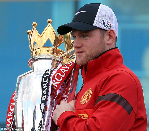 Rooney also became United's record goal scorer.  He also won five Premier League titles