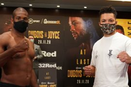 Daniel Dubois vs Joe Joyce Start Time and Undercard Running Order