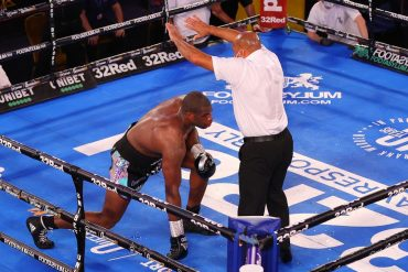 In the 10th round, Joy Joyce defeated her opponent Daniel Dubois