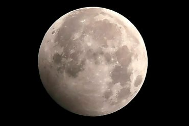 A lunar eclipse will be visible on the full Beaver Moon this weekend