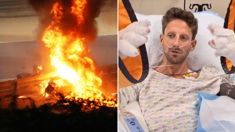 Formula 1: Romain Grosjean says he's not in trouble after escaping high speed on Bahrain GP |  World News