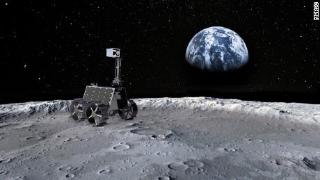 The UAE hopes to find unexplored parts of this small lunar rover