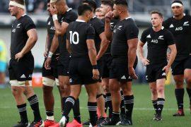 All Blacks v Argentina: Coach Ian Foster is hit by heat following the Sydney Shocker