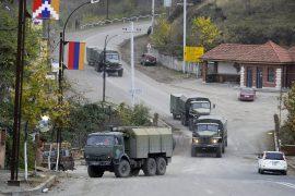 Azerbaijan delays takeover, condemns Armenians fleeing