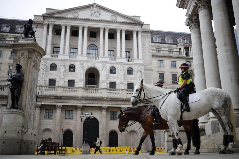 Bank of England maintains rates as new corona virus lockdowns begin