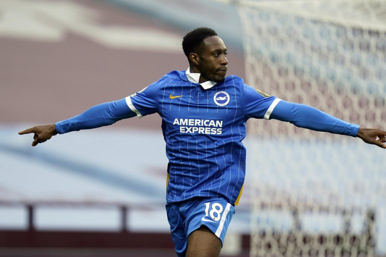 Brighton Rock returned to the scoresheet with Aston Villa and Danny Welbeck