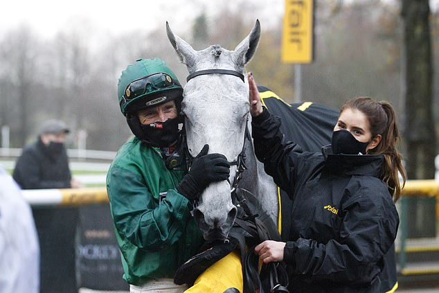 After winning the Betfair Chase, Daryl Jacob set up sights at the Grand National