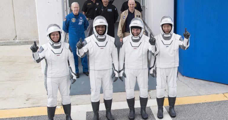 Dress-Rehearsal Countdown Space X Crew Dragon Launches Crew