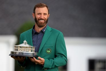 Dustin Johnson set a record that sealed the Masters victory