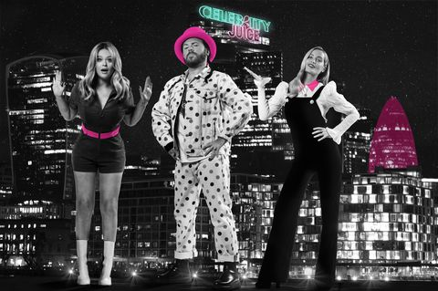Celebrity Juice Keith Lemon, Emily Attack, Laura Whitmore
