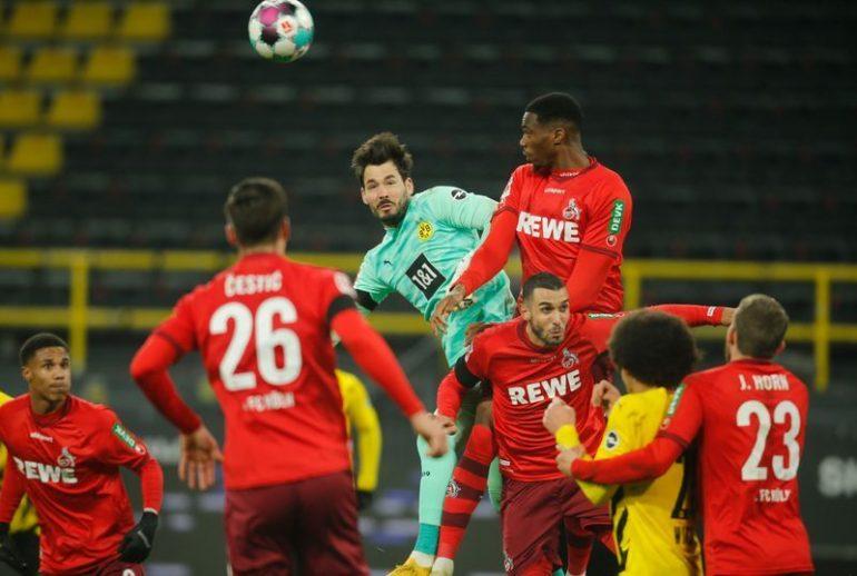 Football: Cologne Stone beat Dortmund 2-1
