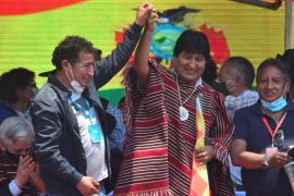 Former Bolivian President Evo Morales is returning home after a year in exile