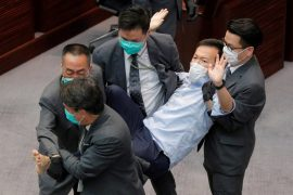 Former pro-democracy lawmakers arrested in Hong Kong