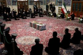 Funeral of slain Iranian nuclear scientist