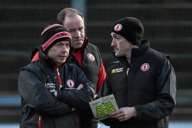 Harte was replaced by Tyrone Fiergel Logan and Brian Doher as joint managers
