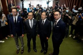 Hong Kong expelled pro-democracy lawmakers after China canceled protests