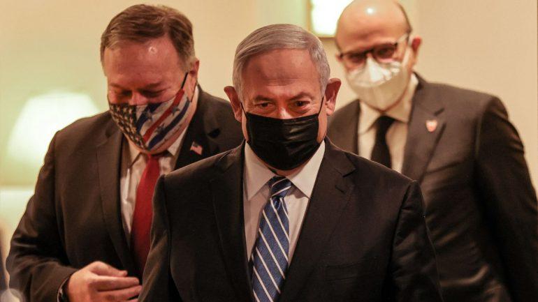 Israeli Netanyahu flew to Saudi Arabia for the Crown Prince Pompeo meeting
