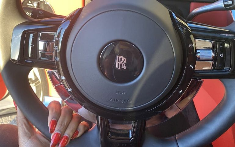 Jade Cargill buys Rolls Royce and takes care of haters