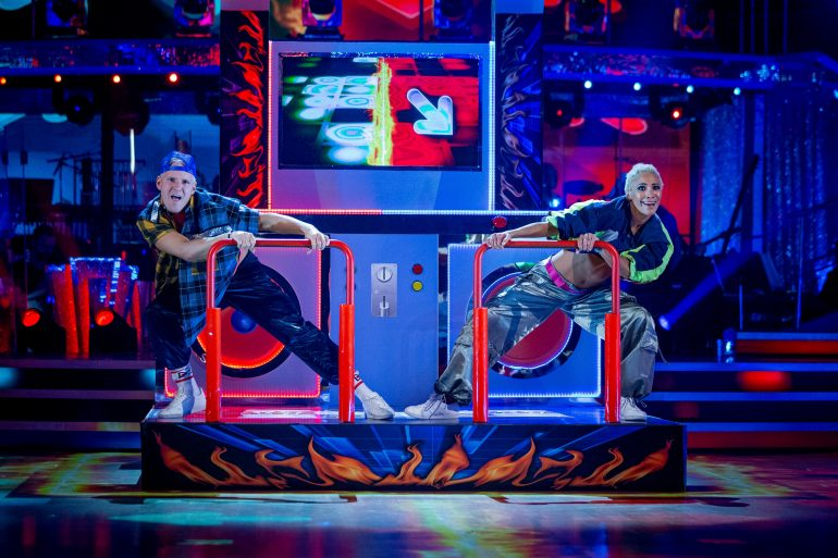 Jamie Lying Voice Strictly Come Dancing Judges Take him to the top of the Leaderboard with Street Dance