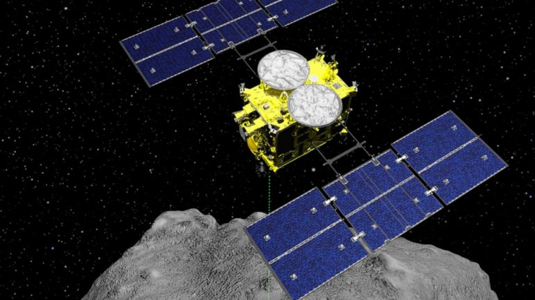 Japanese spacecraft carrying asteroid soil samples near home