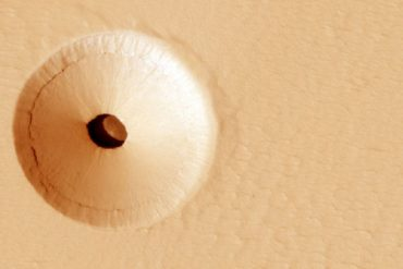 Mars was once hit by a flood of unimaginable proportions, a new study claims