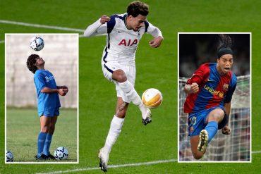Mauricio Pochettino compares Spurs player Dele Alli to Ronaldinho and Diego Maradona because of their special 'charisma and energy'.